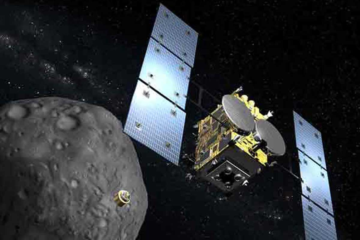 Japan's Hayabusa 2 spacecraft is gearing up to bomb an asteroid