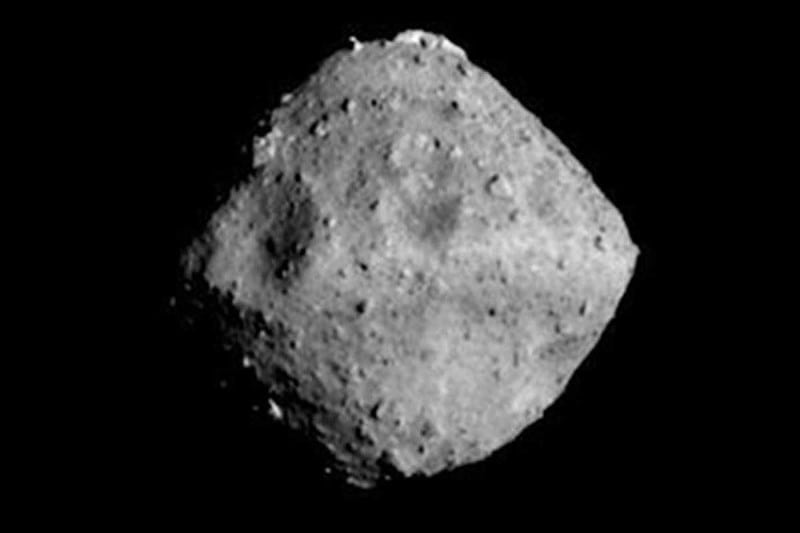 Ryugu, as pictured from the spacecraft on 24 June