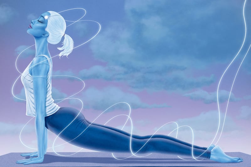 yoga and meditation work better if you have a brain zap too new