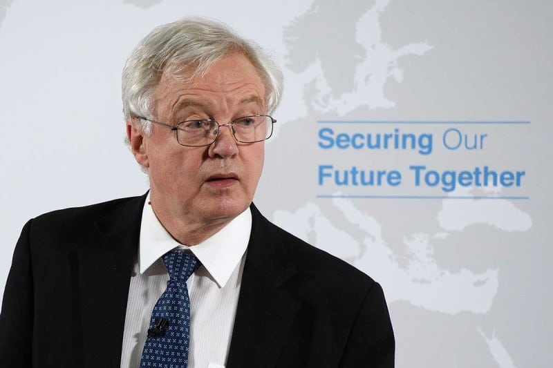 Ex-Brexit secretary David Davis