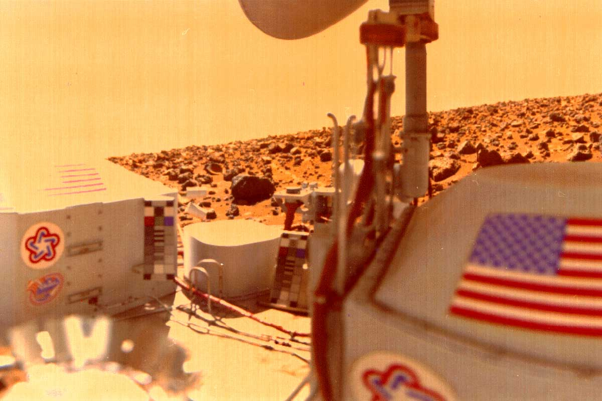 Whoops! NASA burned best evidence for life on Mars 40 years ago