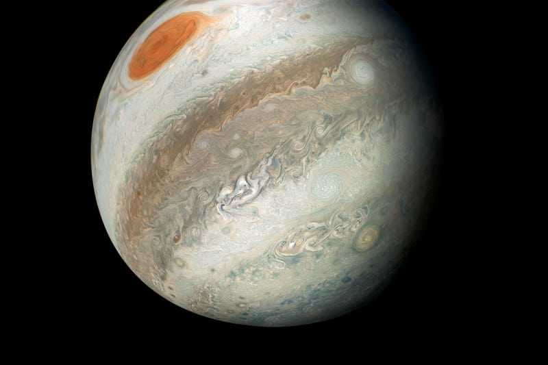 Jupiter has the most moons in the solar system