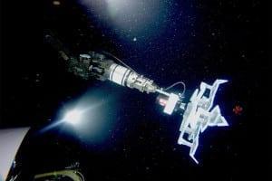 A robotic grabber prepares to grab a squid