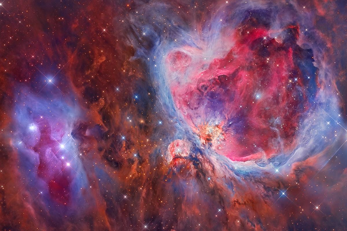 Mosaic of the Great Orion & Running Man Nebula