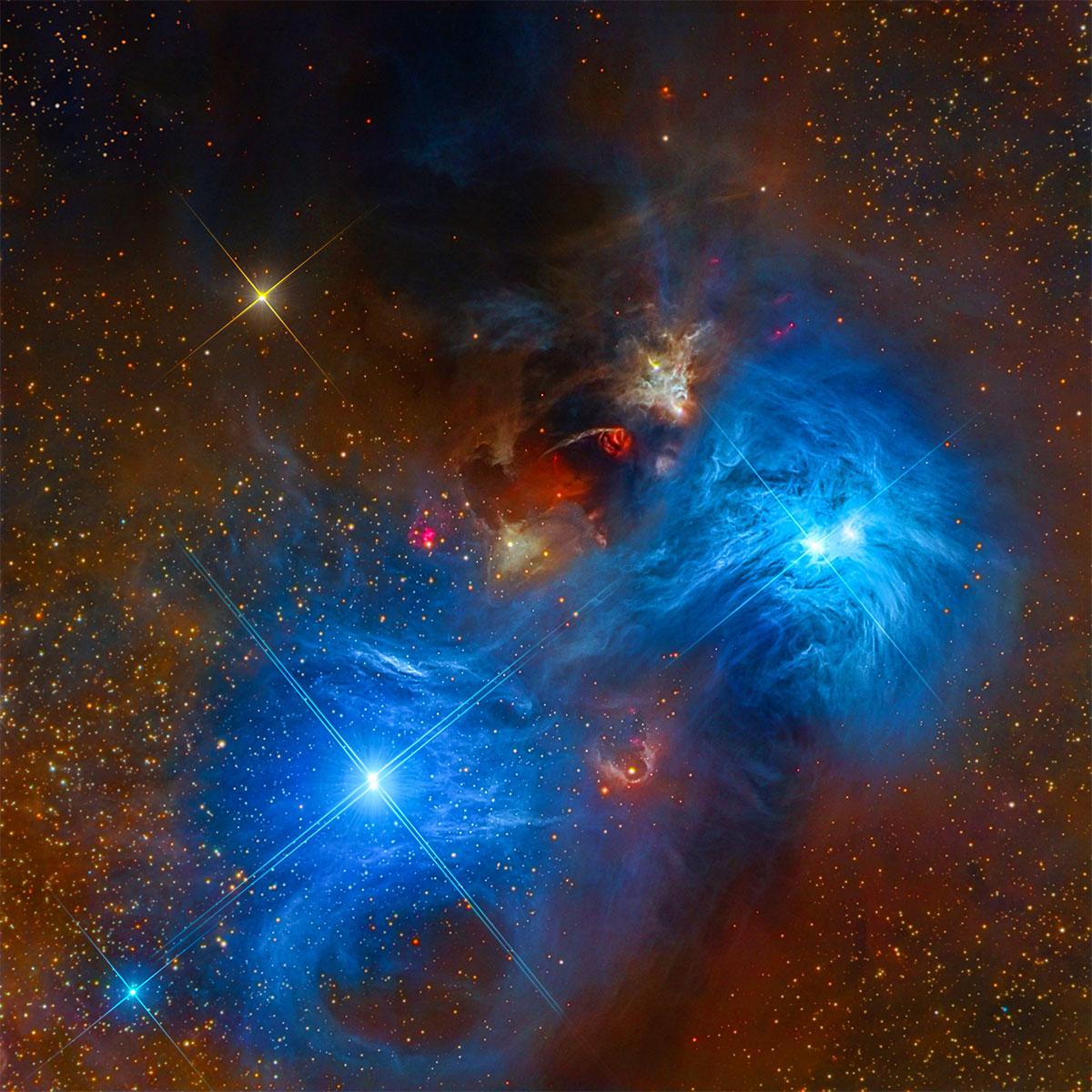 NGC 6726 and NGC 6727