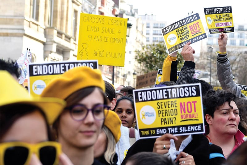 As many as one in 10 women suffer from endometriosis pain