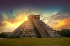 The Mayans built spectacular monuments for centuries - and then suddenly stopped. Why?