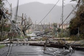 The aftermath of Hurricane Maria