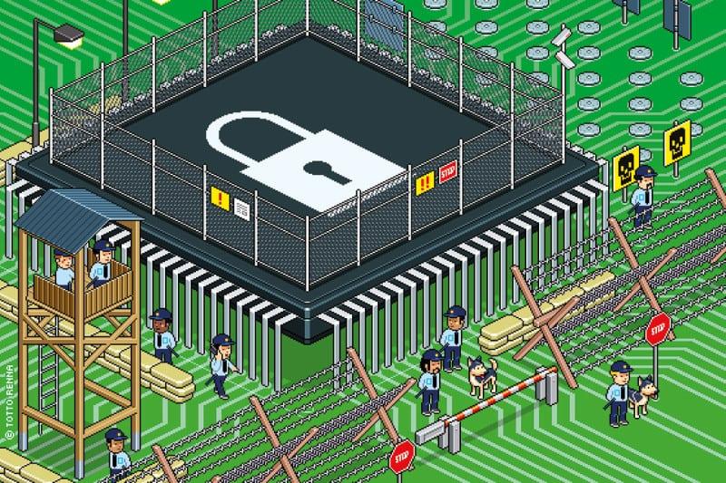 high-security artwork