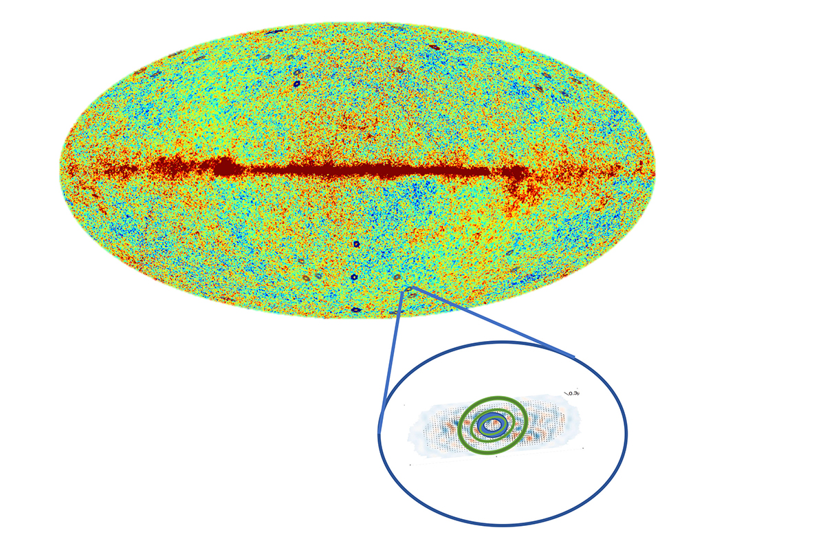 Weird circles in the sky may be signs of a universe before ours