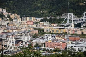 The Genoa bridge collapse