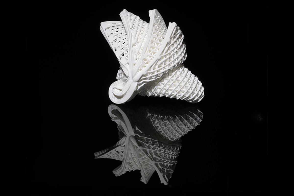 Watch 4D-printed ceramics form elaborate, shape-shifting structures