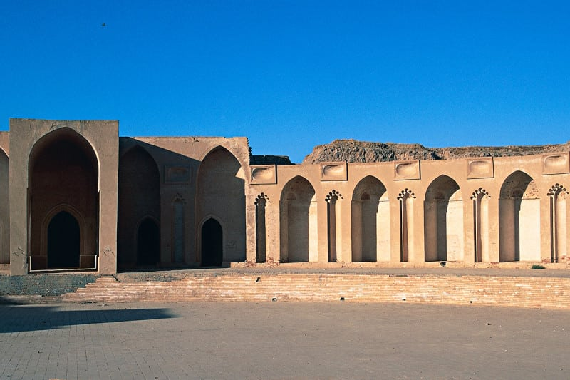 Ancient palace in Samarra