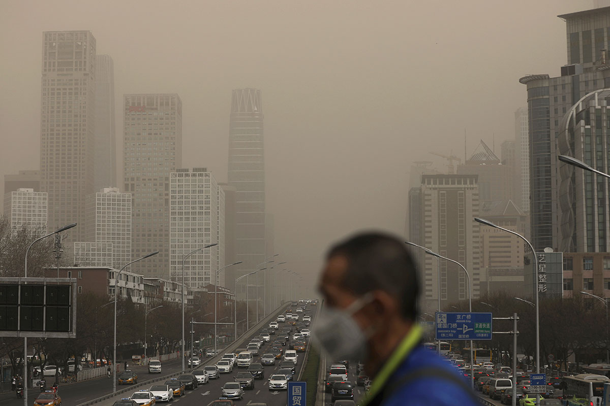 Breathing this smog every day can fog up your mind