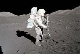 Astronaut Harrison Schmitt