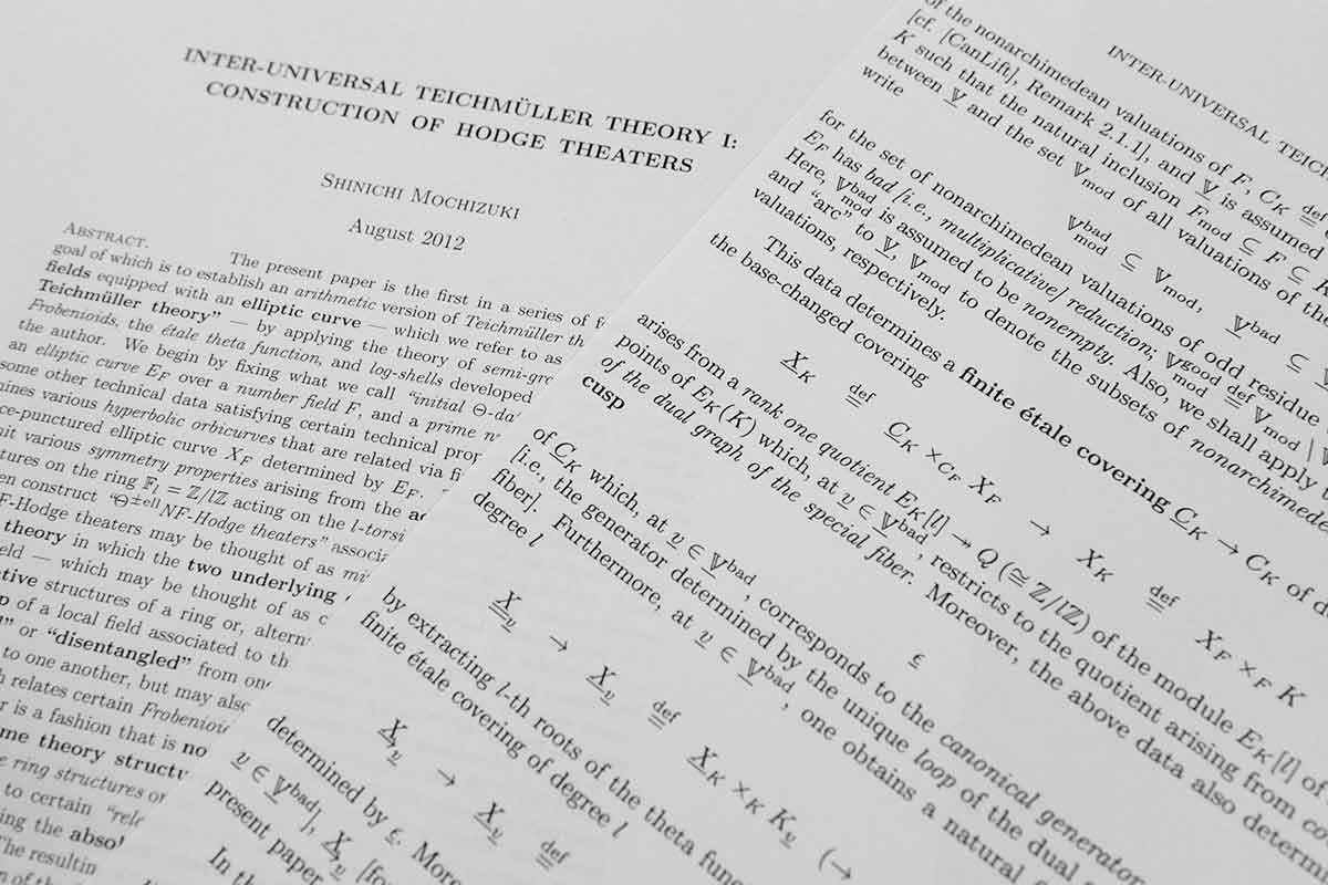 Infinity war: The ongoing battle over the world's hardest maths proof